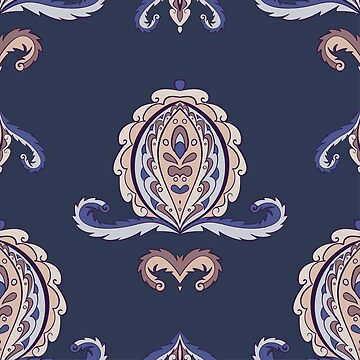 Abstract ornamental vintage seamless pattern by dana891125