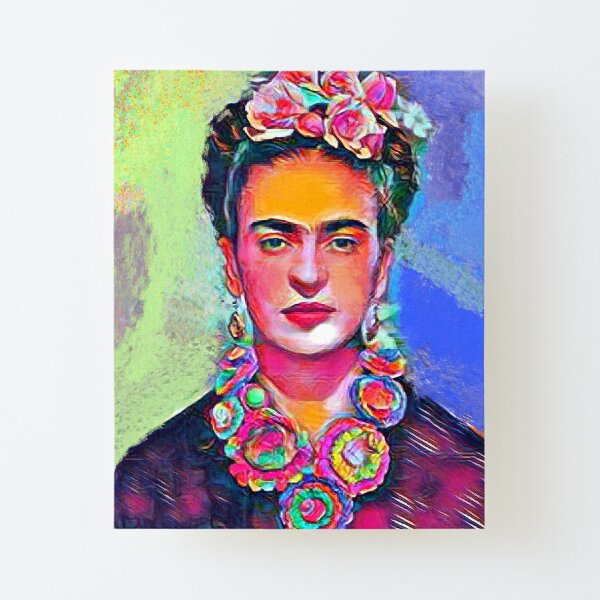 Frida Kahlo Canvas Mounted Print