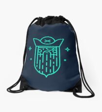 Mysterious pirate Drawstring Bag