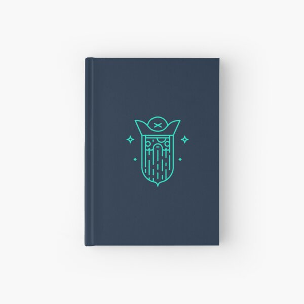 Mysterious pirate Hardcover Journal