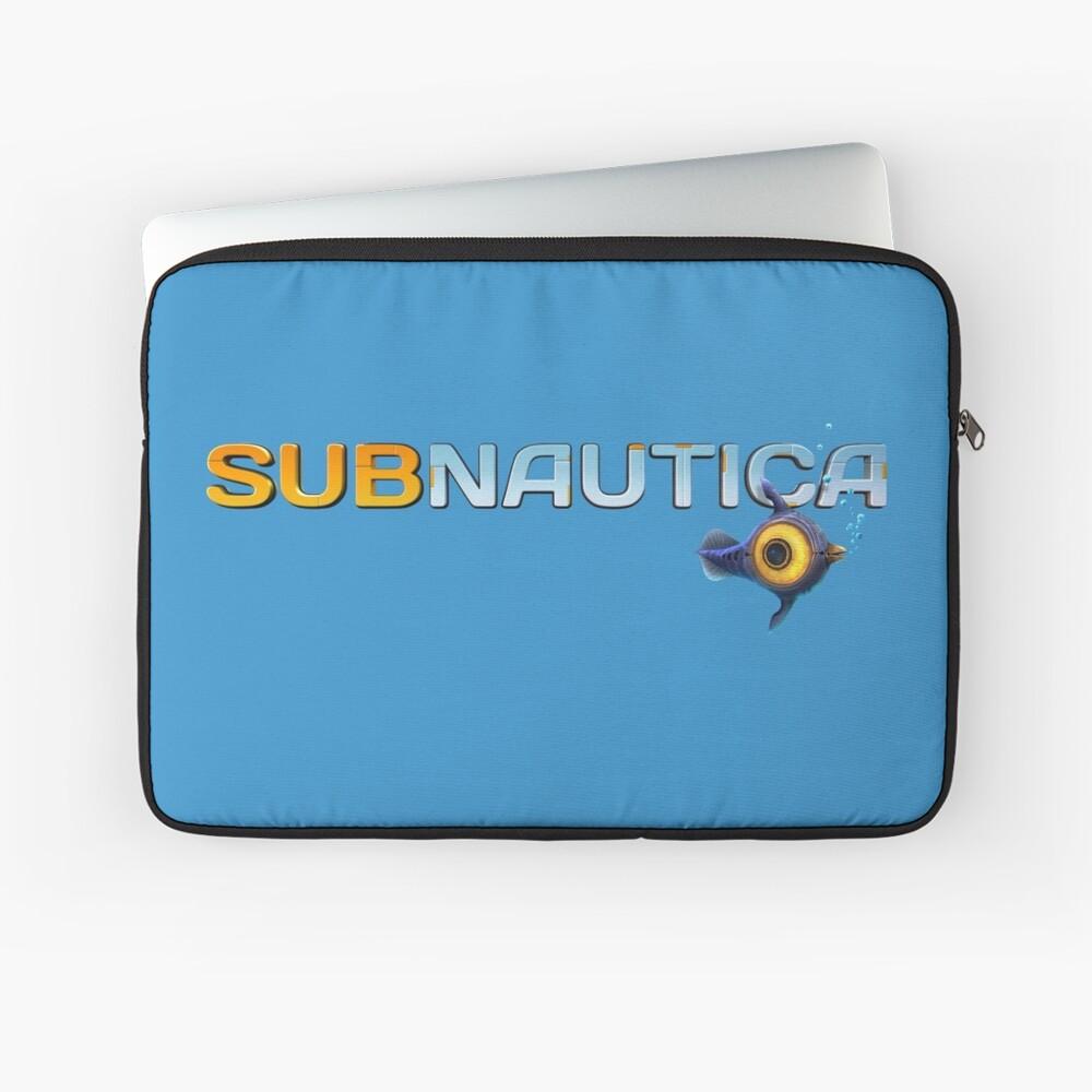 Subnautica Logo Laptop Sleeve