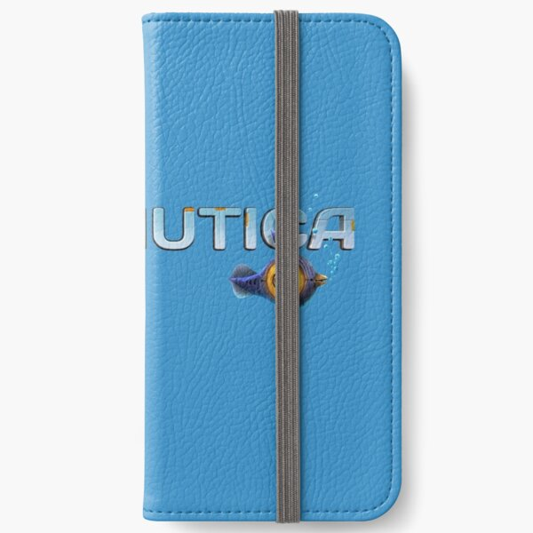 Subnautica Logo iPhone Wallet