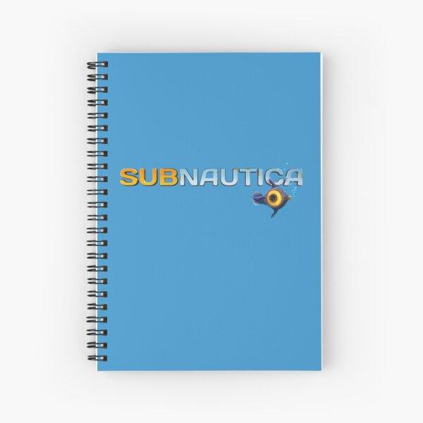 Subnautica Logo Spiral Notebook