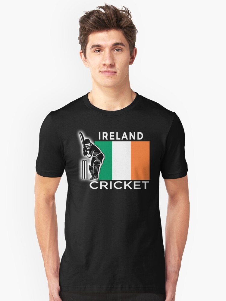 Ireland Cricket Unisex T-Shirt Front