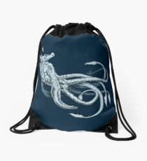 Sea Emperor Transparent Drawstring Bag