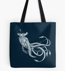 Sea Emperor Transparent Tote Bag