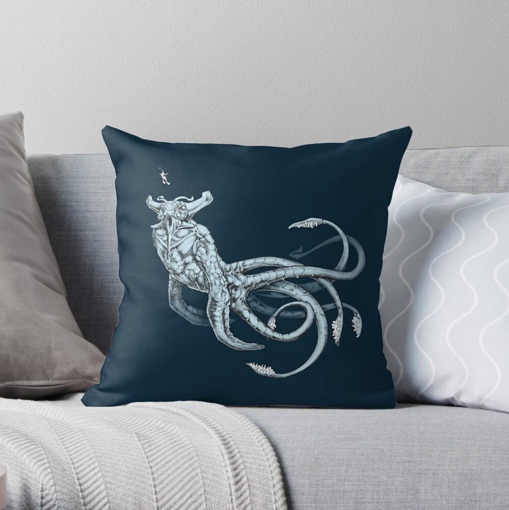 Sea Emperor Transparente Cojín