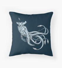 Sea Emperor Transparent Throw Pillow
