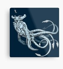Sea Emperor Transparent Metal Print