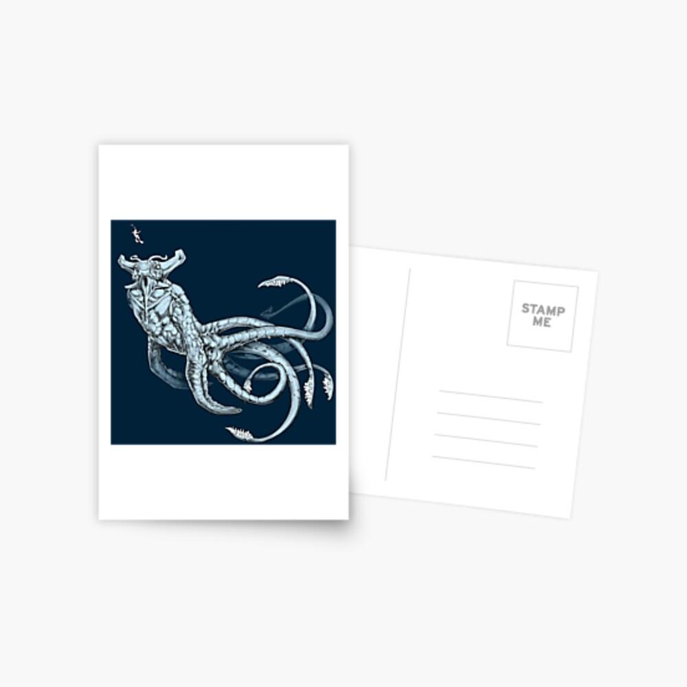 Sea Emperor Transparent Postcard