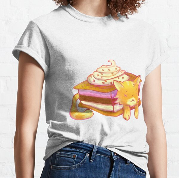 Ice Sandwich cat Classic T-Shirt