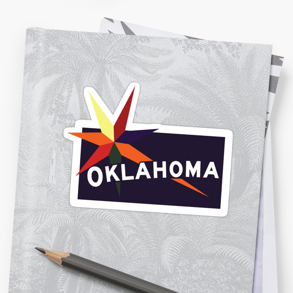 Oklahoma Welcome Road Sign Vintage 80s, USA by worldofsigns