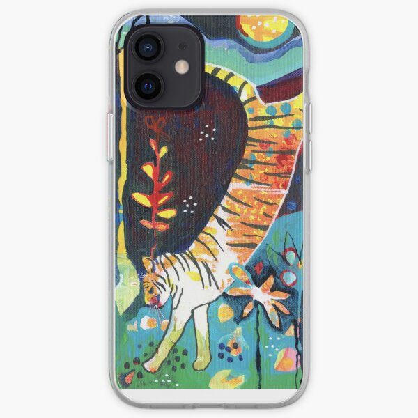 Leaping Tiger iPhone Soft Case