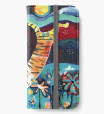 Leaping Tiger iPhone Wallet/Case/Skin