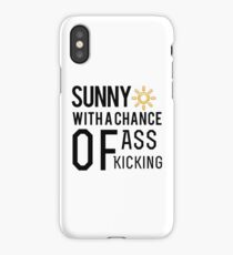 How's the weather in your world? iPhone Case