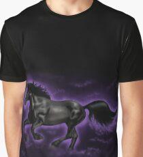 Black Percheron Graphic T-Shirt