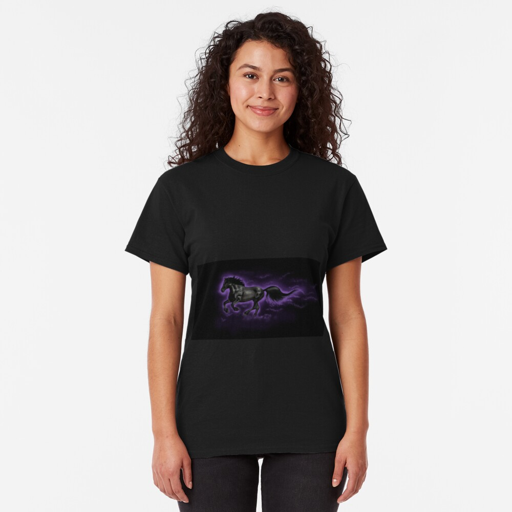 Black Percheron Classic T-Shirt