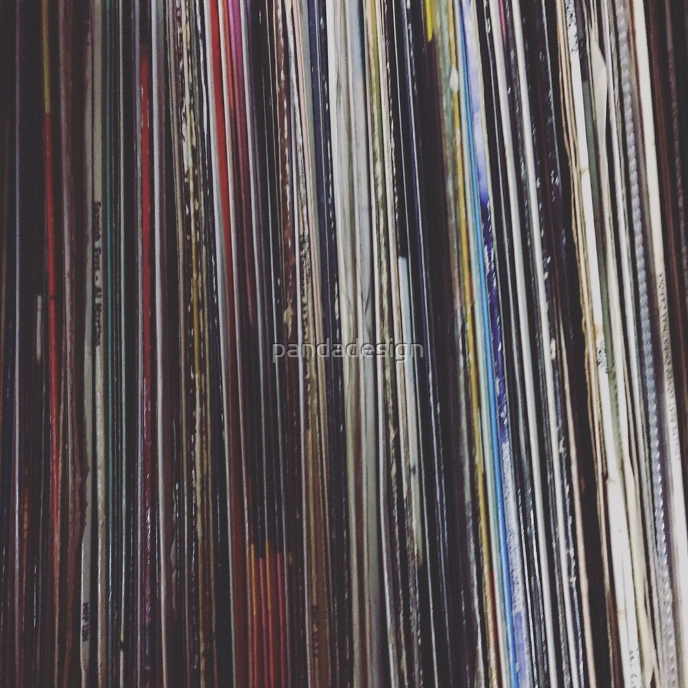 Record Stack by pandadesign