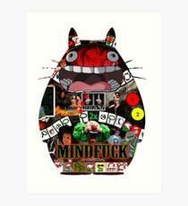 Totoro Mindfuck Art Print