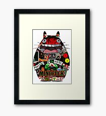 Totoro Mindfuck Framed Print