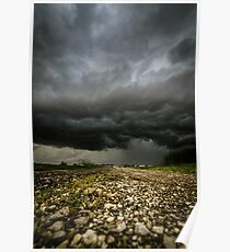 storm over the fields Poster