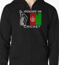 Afghanistan Cricket Zipped Hoodie