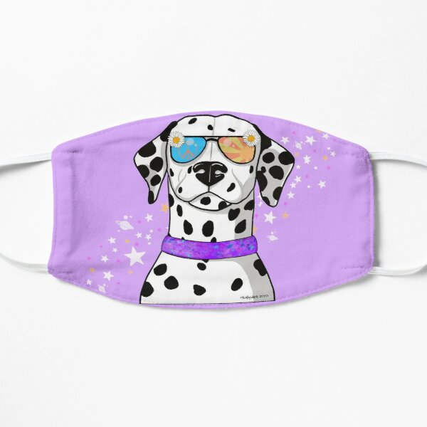 All you need is love and a Dalmatian Flat Mask
