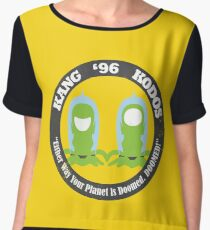 Vote Kang - Kodos '96 Women's Chiffon Top