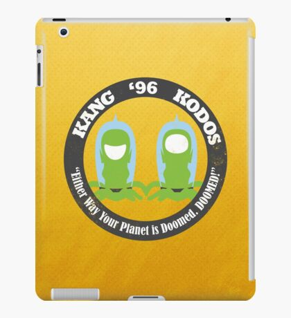Vote Kang - Kodos '96 iPad Case/Skin