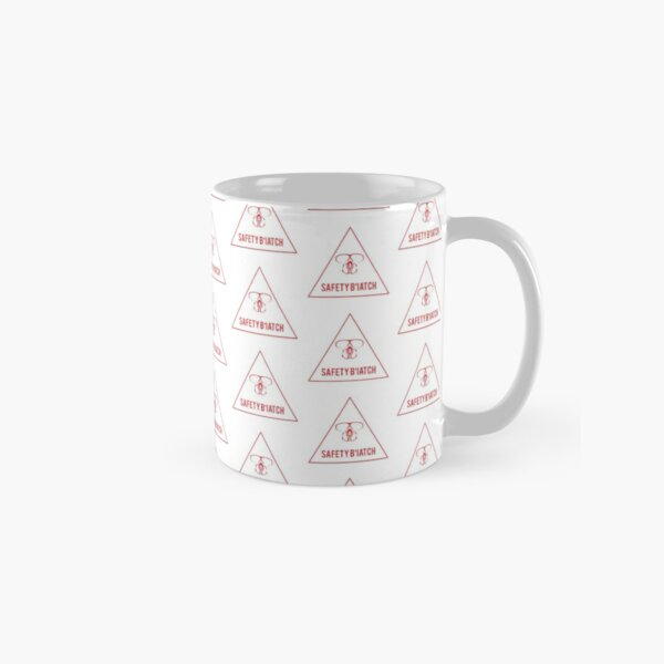 Safety Biatch Triangle Classic Mug