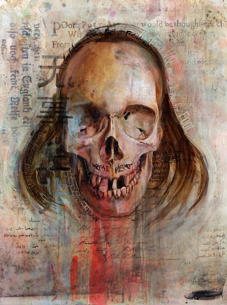 Poor Poet (Oil Painting) von Daniela  Illing