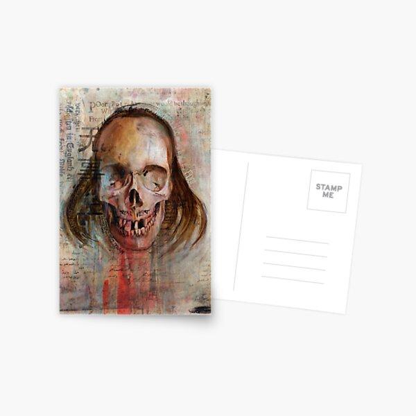 Poor Poet (Oil Painting) Postkarte