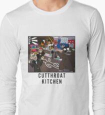Cutthroat Kitchen Doodle Long Sleeve T-Shirt