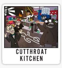 Cutthroat Kitchen Doodle Sticker