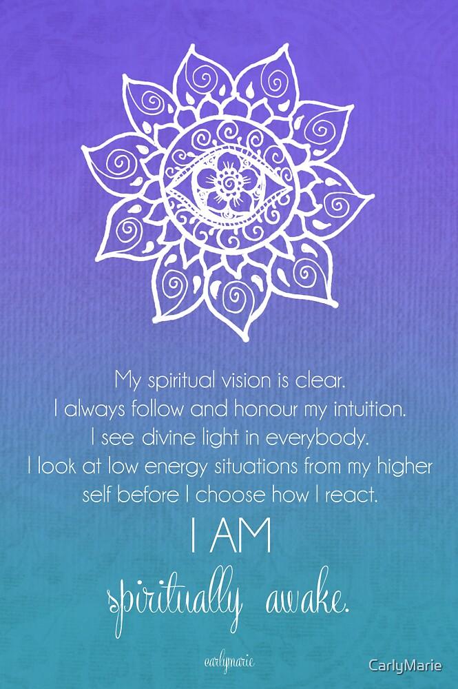 Third Eye Chakra Affirmation by CarlyMarie
