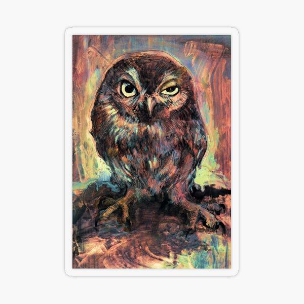Orly Owl Transparent Sticker