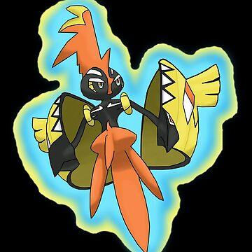 Pokemon sun and moon Tapu Koko  by coco4892