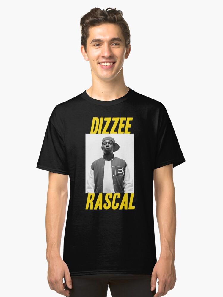 Dizzee Rascal Classic T-Shirt Front