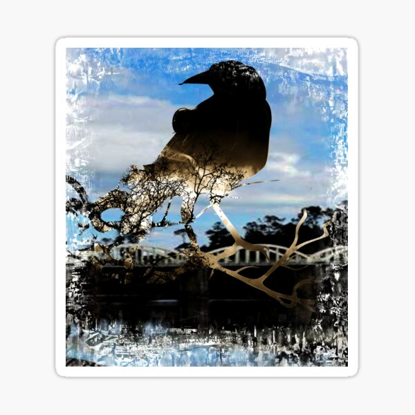 The Black Raven Sticker