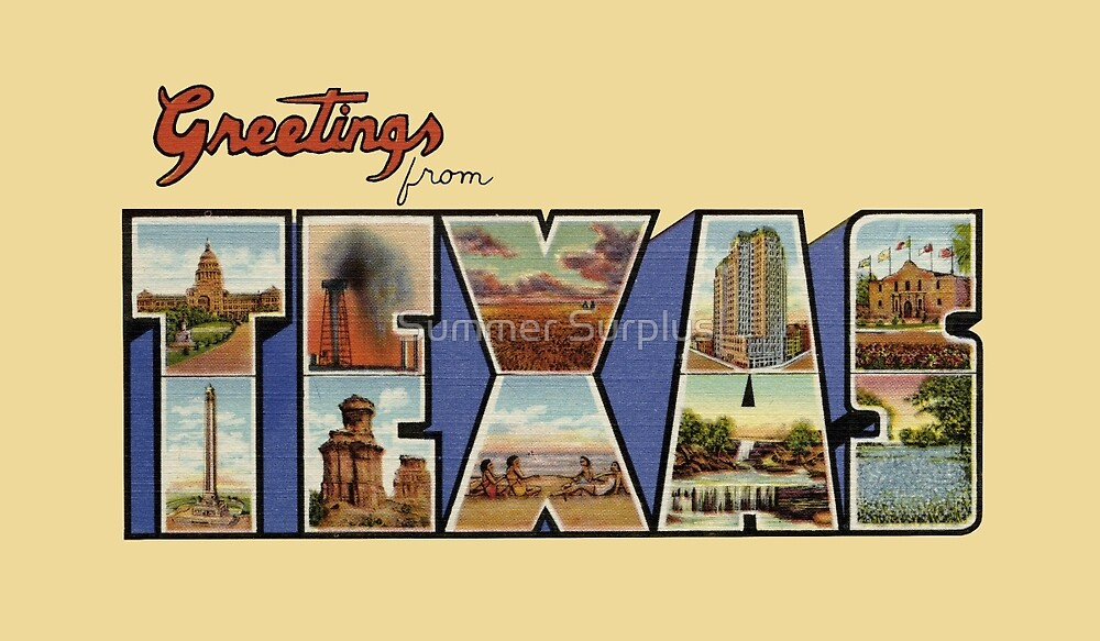 Greetings from Texas by patrimonic