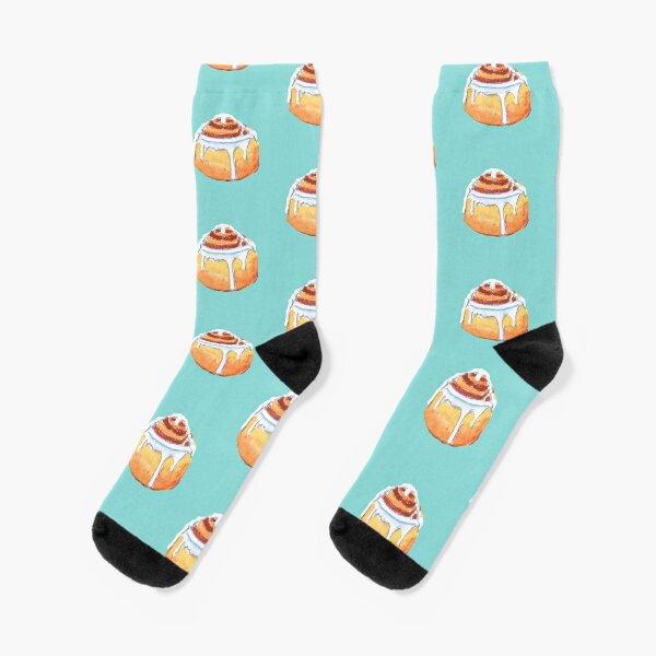 cinnamon roll Socks