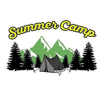 Summer Camp #3 by dianeblocker