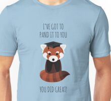 A Red Panda Graduation Unisex T-Shirt