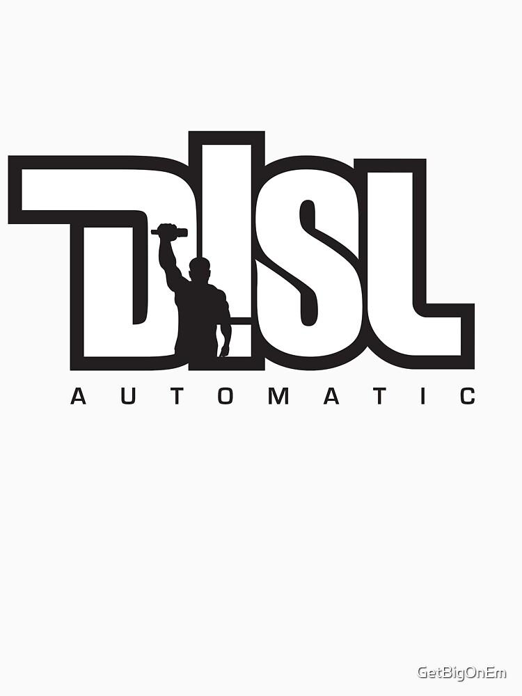 DISL Automatic - WHITE by GetBigOnEm