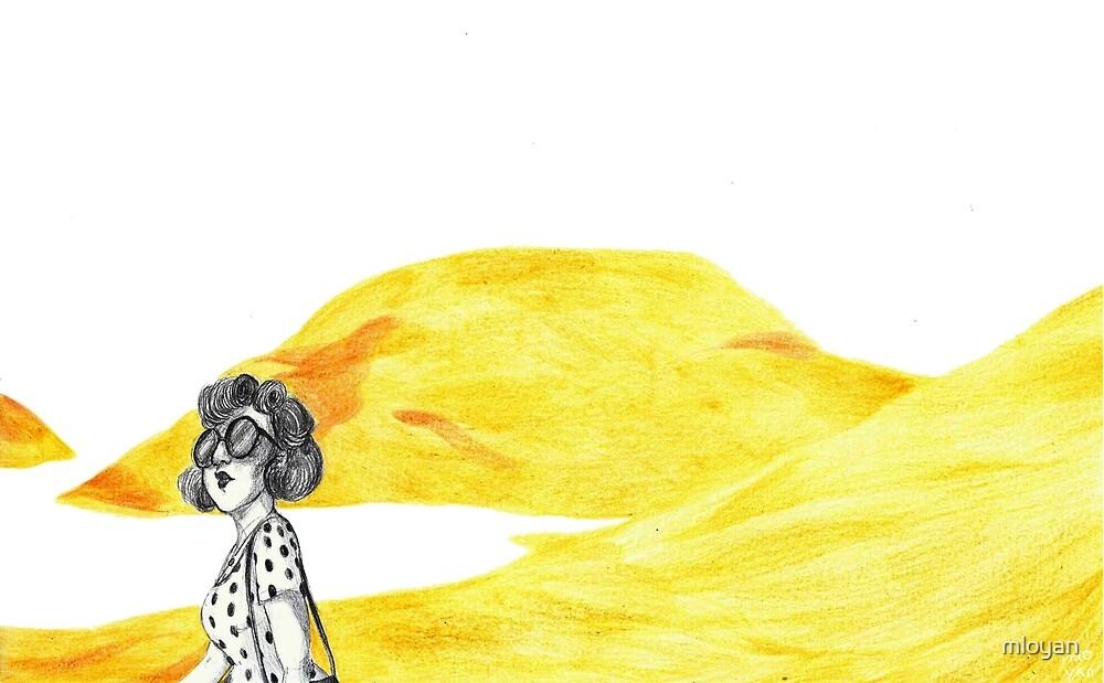 summer polka dots by mloyan