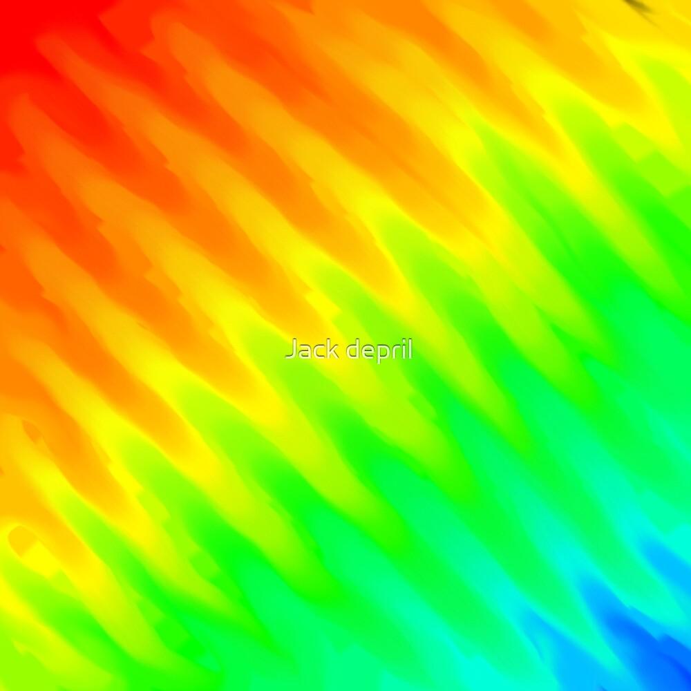 rainbow smudgy pattern by JackArtSbjct0