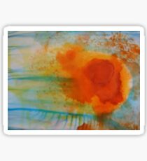 Summer Flame Blossom Sticker