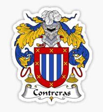 Contreras Coat of Arms/Family Crest Sticker