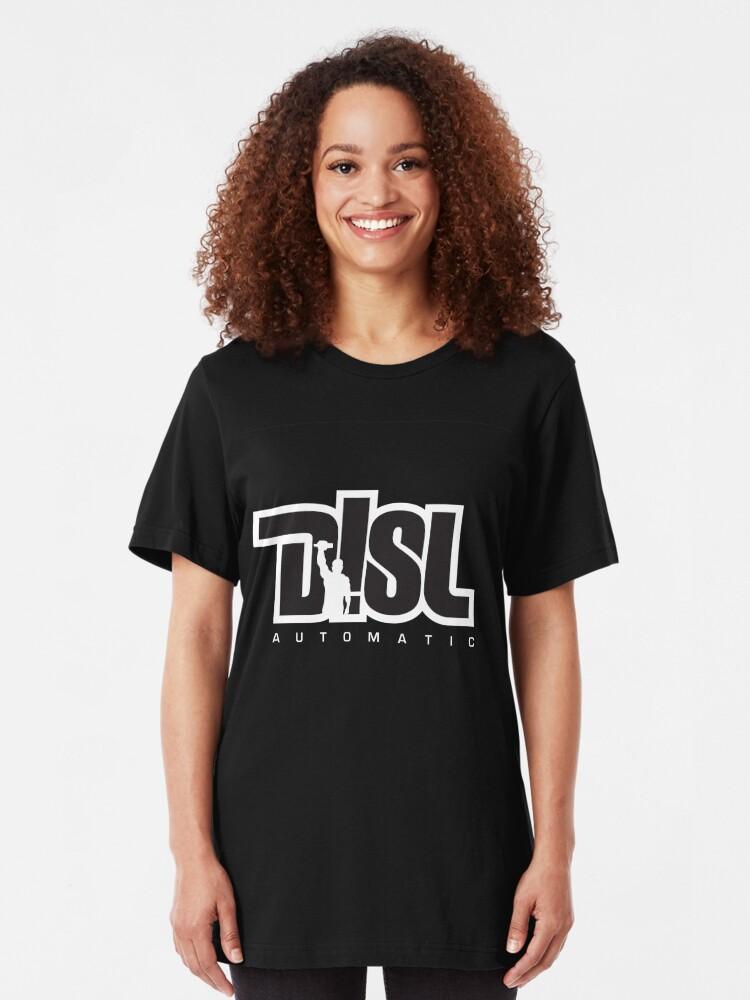 Alternate view of DISL Automatic - BLACK Slim Fit T-Shirt