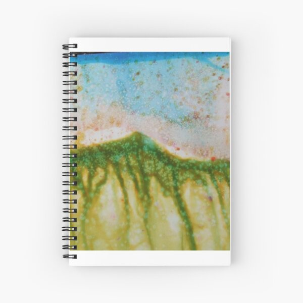 Rains and Roots Spiral Notebook